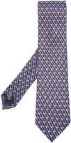 Ermenegildo Zegna geometric print tie - men - Silk - One Size