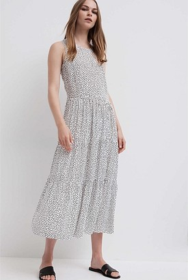 Witchery Print Tiered Dress