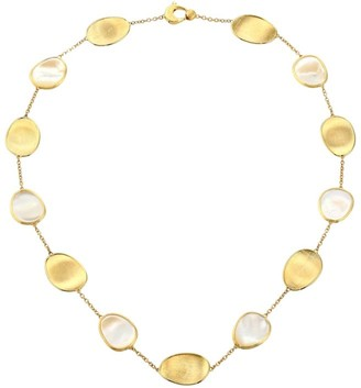 Marco Bicego Lunaria 18K Yellow Gold & White Mother-Of-Pearl Necklace