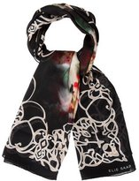 Elie Saab Printed Silk Scarf