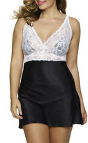 Jezebel Goddess Lace and Satin Chemise - Plus