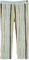 Il Gufo Striped Cotton-Blend Capri Pants