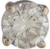 14K Diamond Stud
