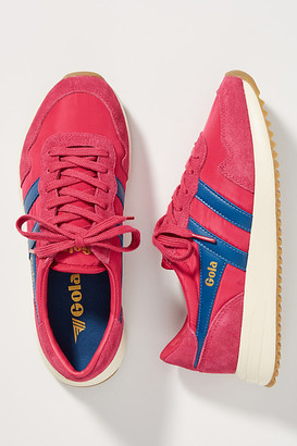 Gola Striped Sneakers By in Pink Size 5