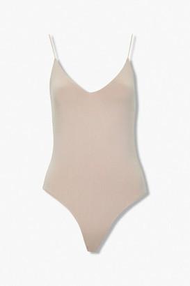 Forever 21 V-Neck Cami Bodysuit