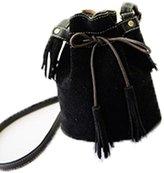TOP SHOP BAG Top Shop Womens Mini Creel Tassel Scrub Bucket Totes Shoulder Bags Handbags Hobos