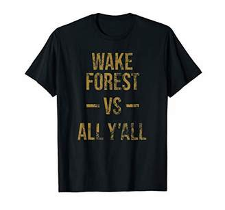 Victoria's Secret Wake Forest All Y'All Vintage Southerner TShirt T-Shirt