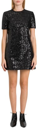 Saint Laurent Sequined Short Dress