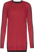 Rag & Bone Verity bi-colour cashmere sweater