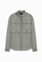 Anthony Vaccarello Four Pocket Shirt