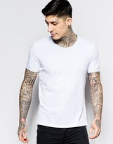 Sisley T-shirt With Raw Edges