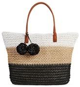 Merona Women's Straw Tote Handbag