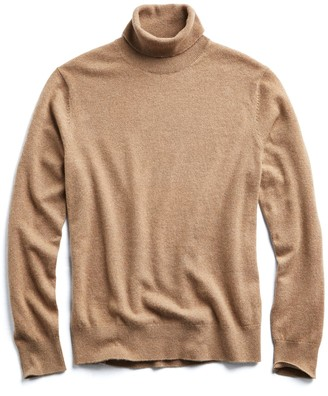 Todd Snyder Cashmere Turtleneck in Camel