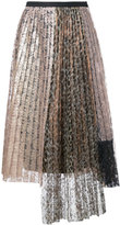 Antonio Marras lace pleated skirt - women - Polyester - 42