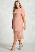 Forever 21 Plus Size Mesh Dress