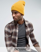 Puma Archive No 1 Beanie In Yellow Exclusive To Asos 02142803