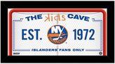 "Steiner Sports New York Islanders 10"" x 20"" Kids Cave Sign"