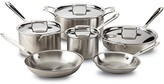 All-Clad d5 Stainless Brushed 10-Piece Cookware Set