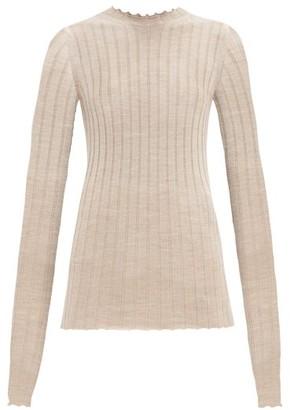 Petar Petrov Kent Ribbed Wool Sweater - Brown