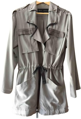 Barbara Bui Grey Silk Jacket for Women