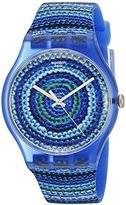 Swatch Unisex SUOS104 Analog Display Quartz Blue Watch