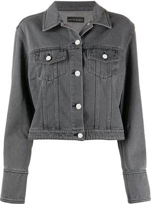 David Koma Cropped Denim Jacket