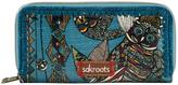 The Sak 107216LAGSD Sakroots Artist Circle Double Zip Wallet