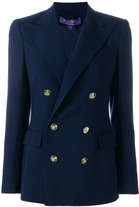 Ralph Lauren Collection Double-Breasted Fitted Blazer