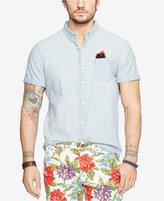 Denim & Supply Ralph Lauren Men's Cotton Chambray Sport Shirt