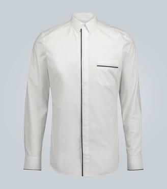 Fendi Formal shirt with FF motif