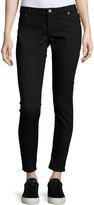 Cheap Monday Spray-On Low-Rise Skinny Jeans, Black