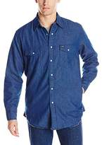 Wrangler Men's Flannel Lined Workshirt