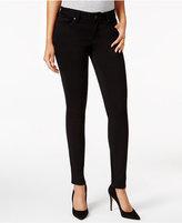 Mavi Jeans Adriana Double Black Wash Skinny Jeans