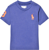 Ralph Lauren Blue Big Pony Tee