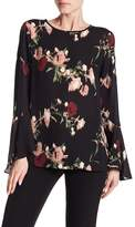 Vince Camuto Windswept Bell Sleeve Blouse