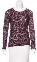 Etoile Isabel Marant Crochet Long Sleeve Top
