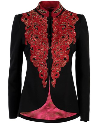 The Extreme Collection Embroidered Jacket Doris