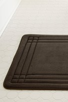 Amrapur GeoPlex Memory Foam Bath Mat - Mocha