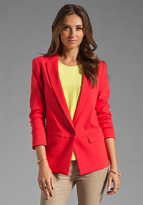 Tibi Maverick Suiting Solid Jacket