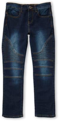X-Ray X Ray (Boys 8-20) Light Blue Moto Jeans