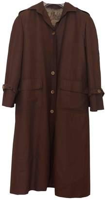 Celine Beige Cotton Coat for Women Vintage