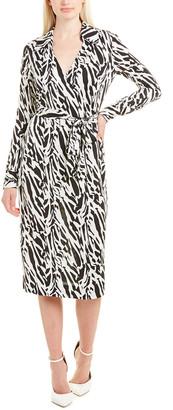 Diane von Furstenberg Power Silk Wrap Dress
