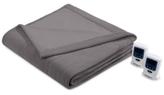 Simmons Knit Micro-Fleece Heated Blankets