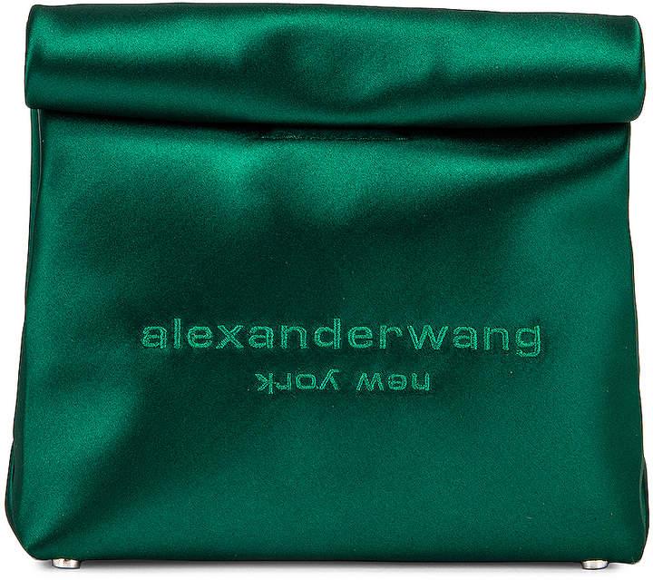 Alexander Wang Lunch Bag Clutch in Emerald | FWRD