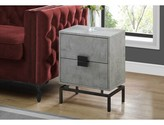 Bronx Douthat End Table with Storage Ivy