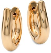 Tamara Comolli 18K Rose Gold Medium Hoop Earrings