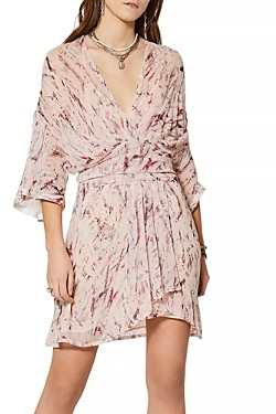IRO Pommie Silk Printed Dress