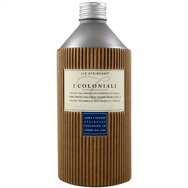 I Coloniali Revitalizing Thai Shower Cream with Hibiscus by 500ml Shower Cream)