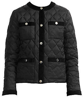 Maje Women's Galipe Quilted Down Jacket