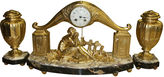 One Kings Lane Vintage French Art Deco Clock by Limousin